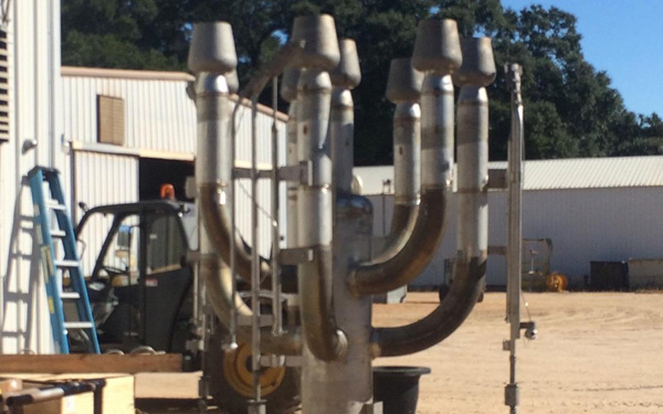 Fabrication and Rebuild of Flare Stack and Components